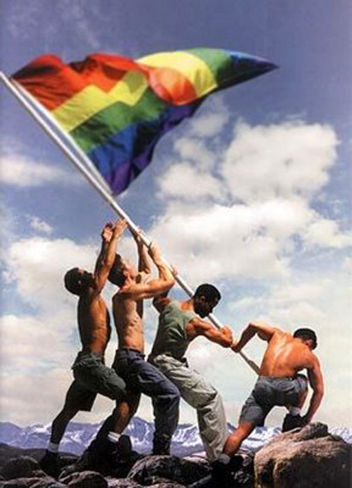 gay flag Website for this image